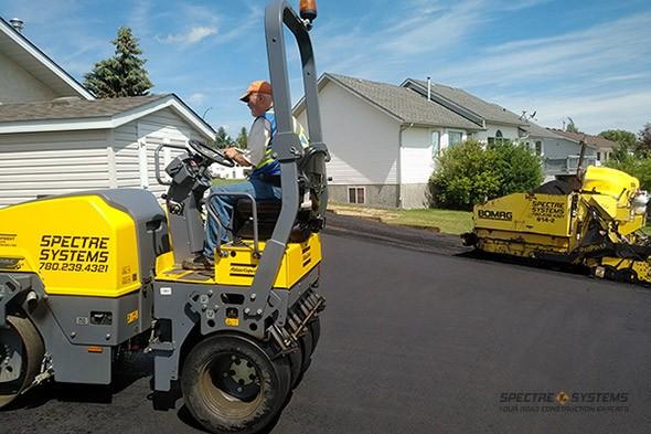 Spectre Systems - Asphalt driveway construction